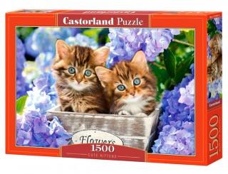 Пазл Два котенка 1500 элементов Castorland