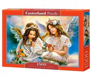 Пазл Подарок от ангела 1500 элементов Castorland