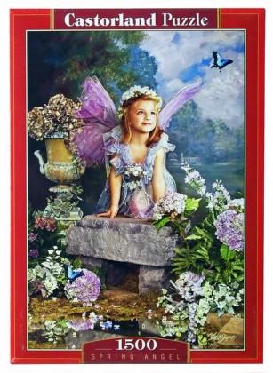 Пазл Весенний ангел 1500 элементов Castorland