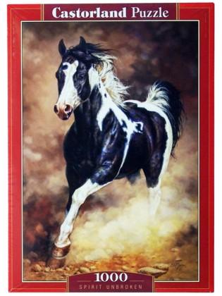 Пазл Бегущая лошадь 1000 элементов Castorland