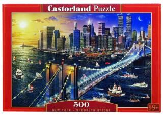 Пазл Бруклинский мост 500 элементов Castorland