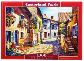 Пазл Улица в цветах 1000 элементов Castorland