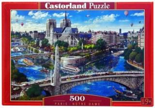 Пазл Париж 500 элементов Castorland