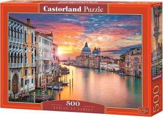 Пазл Венеция на закате 500 элементов