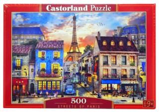 Пазл Улицы Парижа 500 элементов Castorland