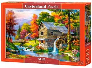 Пазл Старая мельница 500 элементов Castorland