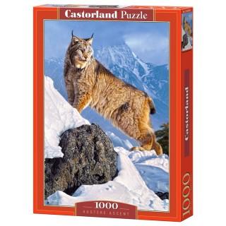 Пазл Рысь в горах 1000 элементов Castorland