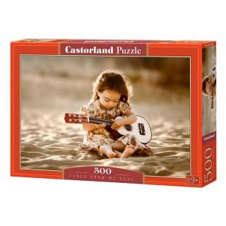 Пазл Мелодия души 500 элементов Castorland