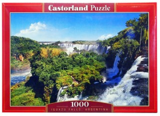Пазл Водопад Аргентина 1000 элементов Castorland