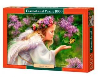 Пазл Бабочка и ангел 1000 элементов Castorland