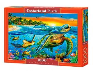 Пазл Подводные черепахи 1000 элементов Castorland