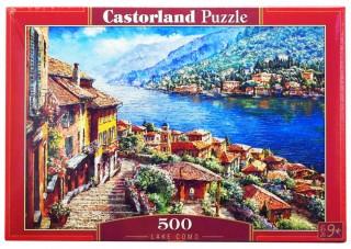 Пазл Озеро Комо 500 элементов Castorland