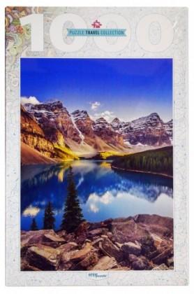 Пазл Озеро в горах 1000 элементов Step Puzzle