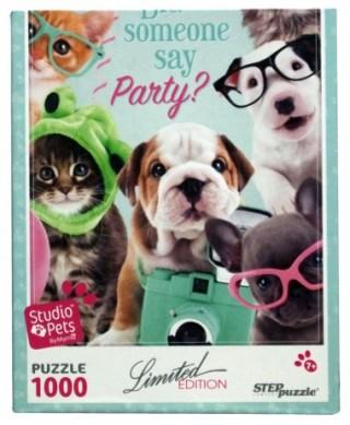 Пазл Вечеринка Studio Pets by Myrna 1000 элементов Step Puzzle