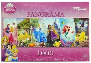 Пазл панорама Принцессы Дисней 1000