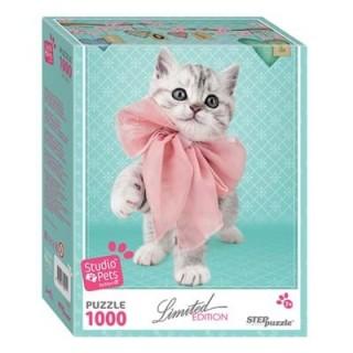 Пазл Котёнок Studio Pets by Myrna 1000 элементов Step Puzzle