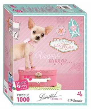 Пазл Щенок Studio Pets by Myrna 1000 элементов Step Puzzle
