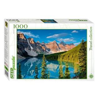 Пазл Горное озеро 1000 элементов Step Puzzle