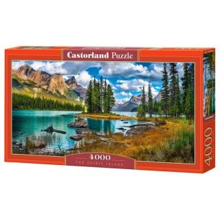 Пазл Остров на озере 4000 элементов Castorland