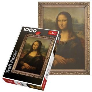 Пазл Мона Лиза 1000 элементов Trefl