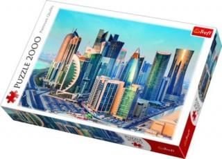 Пазл Доха, Катар 2000 элементов Trefl