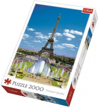 Пазл Эйфелева башня 2000 элементов Trefl