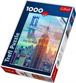 Пазл Нью-Йорк на рассвете 1000 элементов Trefl