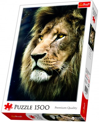 Пазл Портрет льва 1500 элементов Trefl