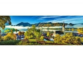 Пазл На берегу озера, Шлирзе панорамный 1000 элементов Trefl