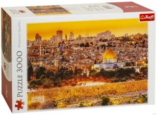 Пазл Крыши Иерусалима 3000 элементов Trefl