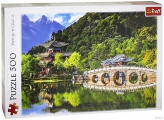 Пазл Бассейн Черного дракона, Лицзян, Китай 500 элементов Trefl