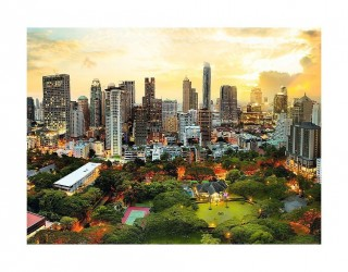 Пазл Закат в Бангкоке 3000 элементов Trefl