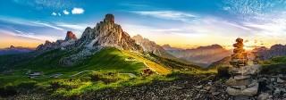 Пазл Пассо ди Гиау, Доломиты панорамный 1000 элементов Trefl