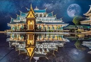 Пазл Ват Па Фу Кон Таиландия 1500 элементов Trefl