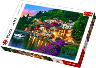 Пазл Озеро Комо, Италия 500 элементов Trefl