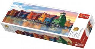 Пазл Гронинген, Нидерланды панорамный 1000 элементов Trefl