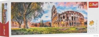 Пазл Колизей утром панорамный 1000 элементов Trefl