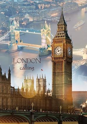 Пазл Лондон на рассвете 1000 элементов Trefl