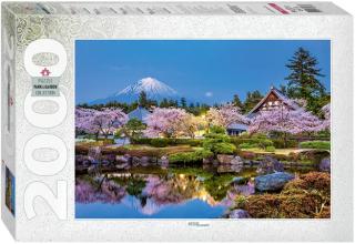 Пазл Япония весной. Сидзуока 2000 элементов
