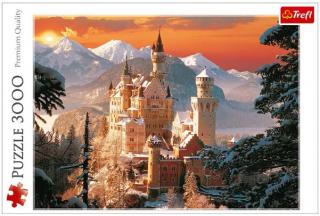 Пазл Зимний дворец Нойшванштайн 3000 элементов Trefl