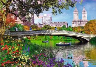 Пазл Центральный парк Нью-Йорк 1000 элементов Trefl