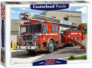 Пазл Пожарная машина 260 элементов Castorland