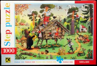 Пазл В гостях у сказки 1000 элементов Step Puzzle