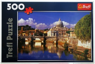 Пазл Ватикан, Рим, Италия 500 элементов Trefl