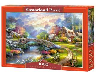 Пазл Весна 1000 элементов Castorland