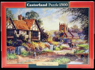 Пазл Деревня 1500 элементов Castorland