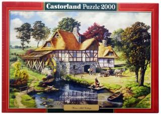 Пазл Водяная мельница 2000 элементов Castorland