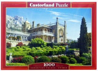 Пазл Воронцовский дворец Крым 1000 элементов Castorland