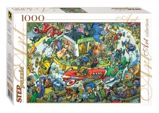 Пазл Время передохнуть 1000 элементов Step Puzzle