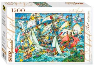 Пазл Всем в море! 1500 элементов Step Puzzle